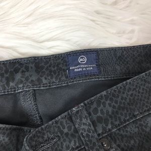 Ag Adriano Goldschmied Pants - AG Snake Print Super Skinny The Legging Jeans